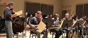 Rehearsal with Chick Corea and Wynton Marsalis