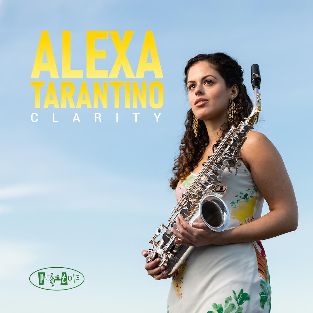 Clarity record cover Alexa Tarantino