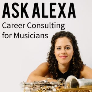 Ask Alexa career consulting for musicians product image